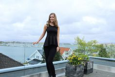Black on black My Outfit, Womens Fashion, Outfits, Black, Blogging, Outfit, Suits, Black People, Women's Fashion