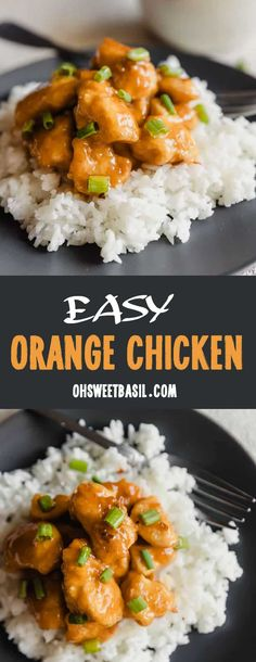 Our easy Asian Orange Chicken is the perfect faux takeout meal if you love takeout but can't find a good takeout place near your house! Asian Recipes, Ethnic Recipes, Chinese Recipes, Chinese Food, Asian Foods, Orange Recipes, Top Recipes, Sauce Recipes, Yummy Recipes