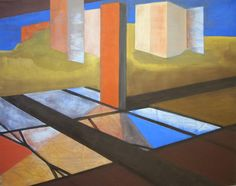 Oil on canvas - Title = 'Chimney' - 39.4 in x 31.5 in - Feb, 2012