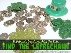 Want something fun to do with the kids this St. Patrick's Day? Check out this game you can play with them: Find The Leprechaun