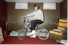 """Yes, those are really """"Parachute"""" pants. And why I need a helmet but not shoes I have no idea. Look Cool, Fashion Pictures, Me Too Shoes, Parachute Pants, Baby Strollers, Helmet, Baby Prams, Hockey Helmet, Prams"""