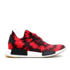 big sale 63afa 25347 authentic authentic adidas nmd runner mens originals r1 pk nice kicks red  black Adidas Nmd R1