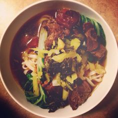 ":: ""Good Enough"" Taiwanese Beef Noodle Soup :: - Whats On My Mind Grapes?"