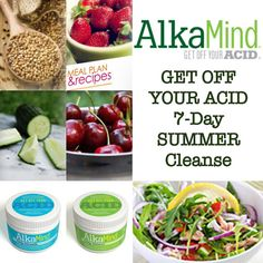 """AlkaMind on Instagram: """"The AlkaMind Get Off Your Acid 7-Day SUMMER Cleanse is here TODAY! Get Off Your Acid™, Reclaim Your Energy, and Re-Boot Your Health... In Just 7 Days! www.GetOffYourAcid.com #GetOffYourAcid"""""""