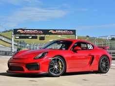 Cool Porsche 2017 - Awesome Porsche: Red 2015 Porsche Cayman GT4 Circuit of the Americas Austin, Tex...  Cars 2017 Check more at http://carsboard.pro/2017/2017/08/12/porsche-2017-awesome-porsche-red-2015-porsche-cayman-gt4-circuit-of-the-americas-austin-tex-cars-2017/
