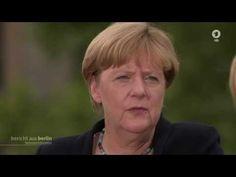 Bundeskanzlerin Angela Merkel im ARD - Sommerinterview,  Bericht aus Ber...