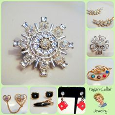 Amazing deals and new vintage listings at www.pagancellarjewelry.etsy.com stop by today and use code SNS15 for 15% off!!!!