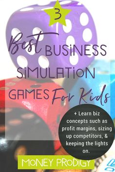 Looking for business games ideas for kids? Here are 3 of the best business simulation games for kids, which means they're lots of fun + offer tons of play to prep your child for some real-world biz concepts. | http://www.moneyprodigy.com/best-business-simulation-games-kids/