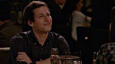 Jake Peralta (Andy Samberg). Brooklyn 99 Brooklyn, Jake And Amy, Jake Peralta, Andy Samberg, Actors, Fictional Characters, Backgrounds, Fantasy Characters, Actor