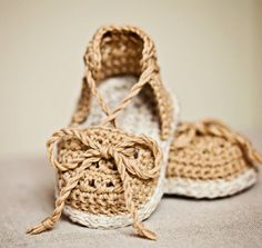 Instant download - Crochet PATTERN (pdf file) - Summer Sandals