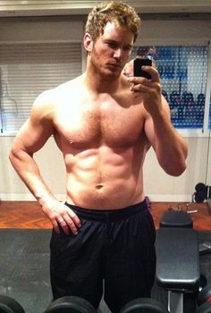 Chris Pratt- I have always had a celeb crush on this guy, and man is he looking extra good now.
