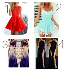 """❤what would you wear?? comment below"" by lovermonster ❤ liked on Polyvore featuring moda"