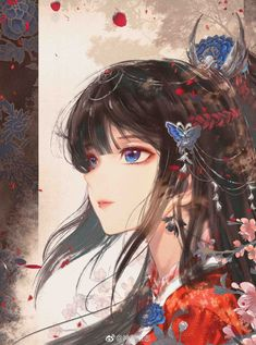 Read quality translation of The Glory After Rebirth at Flying Lines. Cool Anime Girl, Beautiful Anime Girl, Anime Art Girl, Anime Guys, Manga Anime, Loli Kawaii, Kawaii Anime, Anime Kimono, Manga Girl