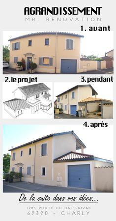 Charming Lu0027agrandissement Fini, La Maison A Gagné 30m2 Grâce à MRI Rénovation