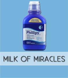 Use milk of magnesia as a primer for oil-free, matte skin. If you suffer from oily skin, milk of magnesia might actually be your miracle worker. Put it on after your moisturizer before your daily makeup routine for shine free skin. | Beauty Tricks