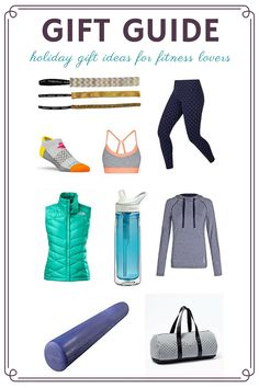 Here's a little something for any (lady) fitness enthusiast on your shopping list! Holiday Gift Guide, Holiday Gifts, Gifts For Runners, Good Morning Friends, Fit Women, Healthy Lifestyle, Great Gifts, Glamour, Leggings