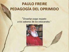 Paulo Freire nació en Recife, Pernambuco, el 19 de septiembre de 1921 y murió el 2 de mayo de 1997. Fue considerado como un educador y experto en temas de educación, y por tanto uno de los teóricos más influyentes de la educación del siglo XX. Desde esta página podrá acceder a esos libros de forma totalmente gratuita.