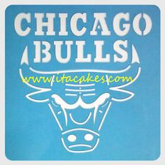 Cake Stencil Template Pattern Famous Sport Teams Basketball Baloncesto Lakers Chicago Bulls 8 x 8 inches - 20 x 20 centimeters (one piece) Stencil Logo, Cake Stencil, Stencils, Cake Supplies, Cake Decorating Supplies, Fun Cookies, Chicago Bulls, Branding Design, Logos