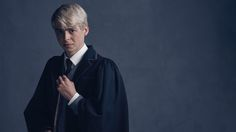 Alex Price and Anthony Boyle will play Draco and Scorpius Malfoy in Harry Potter and the Cursed Child Parts One and Two, and J. Rowling teases that Scorpius will 'do nothing to turn girls off the Malfoy men. Harry Potter Cursed Child, Harry Potter Dress, Harry Potter Facts, Harry Potter Quotes, Harry Potter Movies, Albus Severus Potter, Rose Granger Weasley, Ron Weasley, Scorpius Malfoy