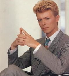 No matter how old he gets, I will always always love David Bowie.