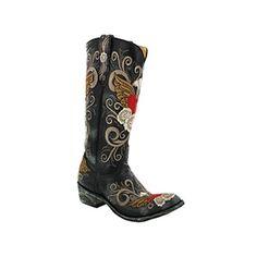 Old Gringo Women's Grace Boots Vesuvio Black
