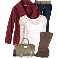 """""""Berry & Lace"""" by shannonmarie-94 on Polyvore"""