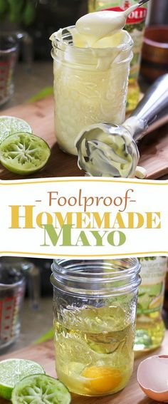 The BEST tasting Paleo Foolproof Homemade Mayo | thehealthyfoodie.com