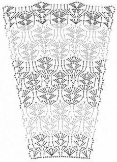 Fabulous Crochet a Little Black Crochet Dress Ideas. Georgeous Crochet a Little Black Crochet Dress Ideas. Crochet Skirt Pattern, Crochet Skirts, Crochet Diagram, Crochet Blouse, Crochet Chart, Crochet Motif, Crochet Clothes, Crochet Stitches, Crochet Ideas