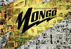 Mongo Sci-Fi and Exotic Bar Rock N Roll, Retro, Madrid, Exotic, Sci Fi, Bar, Futuristic, Temple, Science Fiction