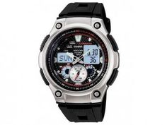 Relógio Casio AQ 190W 1AVD - Masculino Esportivo Anadigi