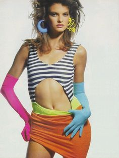 Linda, as an 80's vixen by Penn for Vogue US(1987). 1987798px.png 577×768 pixels