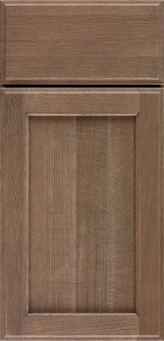 Cabinet Door Styles Gallery - Custom Cabinetry - OmegaCabinetry.com UTRILLO SHOWN IN FINISH STYLE: RIVERBED WOOD: QUARTERSAWN OAK