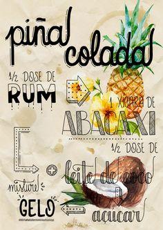 poster - Piña Colada