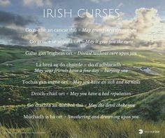 Irish curses