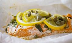 Watch How to Bake Salmon in a Packet in the  Video