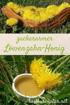 Löwenzahn-Sirup ist eine leckere Alternative zu herkömmlichem Honig. Leider enthalten viele Rezepte sehr viel Industriezucker. Hier die gesündere Option!