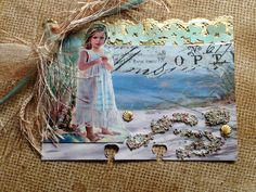 Altered Rolodex - Beach Theme | von Donetta's Beaded Treasures