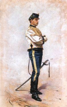 Dismounted Spanish hussar