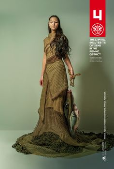 The Capitol and Yahoo celebrate the heroes of Panem's fishing district, District 4. Read more at http://hungrgam.es/dh4