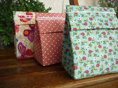 Caixa tetra pak com elástico (Pack com 5)