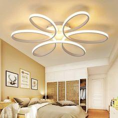 Modern LED lights for Modern Life Ceiling Chandelier, Led Ceiling, My Home Design, Led Licht, Led Lamp, Modern Bedroom, Modern Lighting, Polished Chrome, Zen