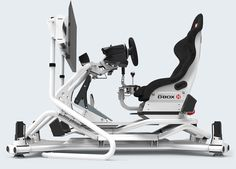 RSEAT N1 M4A 1500 White Motion Simulator – RSEAT Gaming seats, Cockpits and simulators for PC, PS3, XBOX