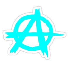"""""""Anarchy by Chillee Wilson"""" Stickers by ChilleeWilson 