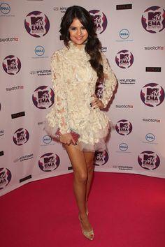 selena gomez music video | Selena Gomez MTV Europe Music Awards Hostess Selena Gomez attends the ...