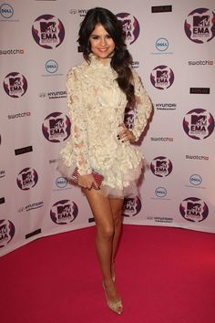 Selena Gomez MTV Europe Music Awards Hostess Selena Gomez attends the MTV Europe Music Awards 2011 at the Odyssey Arena on November 6, 2011 ...