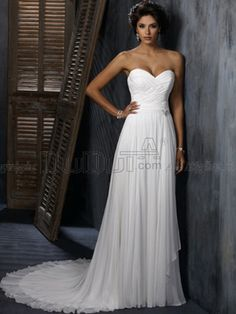 Sheath/Column Wedding dress