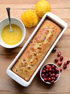 Orange Cranberry Quick Bread sweet, gorgeous, and perfect for giving!