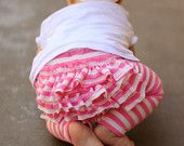 Love the stripes!    Leggings Pattern Baby & Toddler Sizes 0-12 months and 1-6 years. $4.50, via Etsy.
