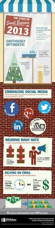 The State of Small Business in 2013 #infographic