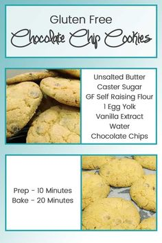 Soft and chewy cookies using Gluten Free ingredients. Perfect to take to a…